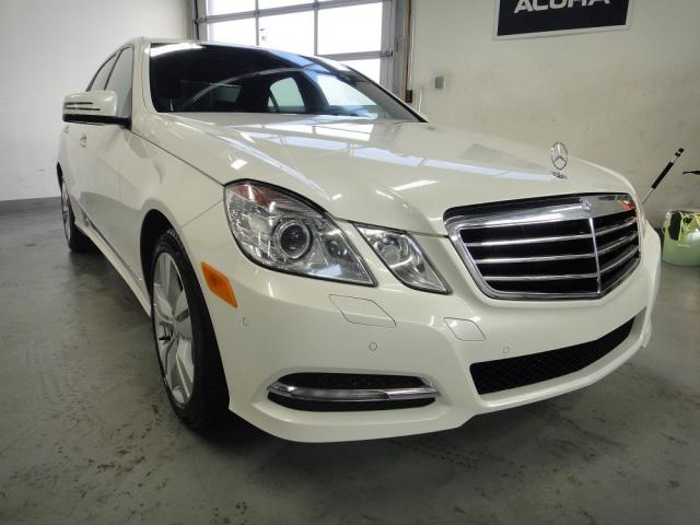 2012 Mercedes-Benz E-Class MUST SEE,WHITE ON BROWN,NO ACCIDENT