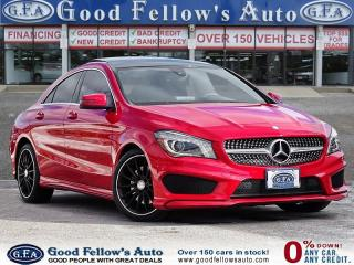 Used 2015 Mercedes-Benz CLA250 4MATIC, PANORAMIC ROOF, LEATHER SEATS, NAVIGATION for sale in Toronto, ON