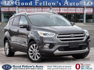 Used 2017 Ford Escape TITANIIUM MODEL, 4WD, LEATHER SEATS, PANROOF, NAVI for sale in Toronto, ON