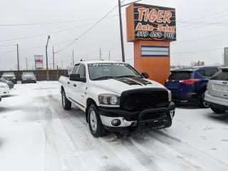 Used 2008 Dodge Ram 1500 **4x4**5.7L HEMI**CUSTOM LIGHTS**BAR**RACK**180KMS for sale in London, ON