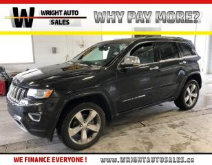 Used 2015 Jeep Grand Cherokee Overland|MOON ROOF|NAVIGATION|LEATHER|115,074 KM for sale in Cambridge, ON