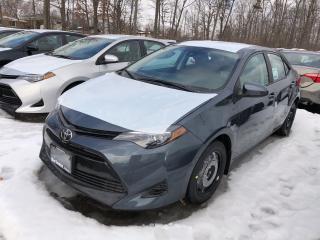 New 2019 Toyota Corolla LE for sale in Burlington, ON