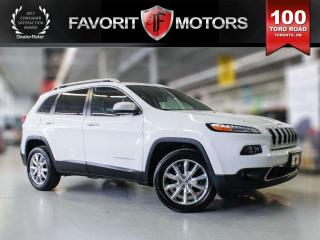Used 2016 Jeep Cherokee 4WD | LEATHER | NAVI | SUNROOF | BACKUP CAM | HEAT for sale in North York, ON
