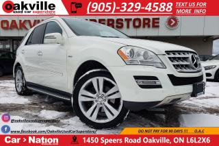 Used 2011 Mercedes-Benz ML-Class ML350 BLUETEC 4MATIC | NAV | SUNROOF | AS IS for sale in Oakville, ON