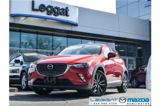 Used 2016 Mazda CX-3 GT- LEATHER, MOONROOF, BOSE, BLUETOOTH for sale in Burlington, ON