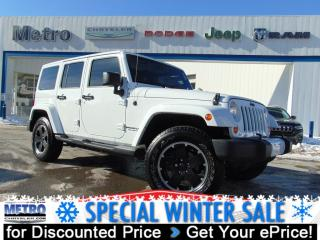 Used 2012 Jeep Wrangler Unlimited Sahara for sale in Ottawa, ON