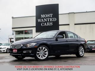 Used 2014 BMW 320i xDrive MODERN | NAVIGATION | SUNROOF | HEATED STEE for sale in Kitchener, ON