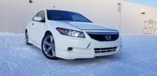 Used 2012 Honda Accord 2dr V6 Auto EX-L w/Navi for sale in Edmonton, AB