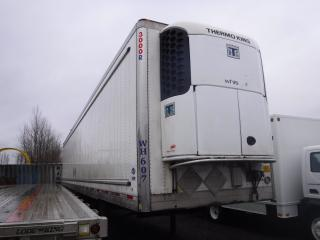 Used 2012 UTILITY 3000R 53 Foot Triple Axel Trailer With Thermo King Reefer for sale in Burnaby, BC