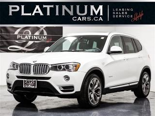 Used 2015 BMW X3 xDrive28d, NAVI, CAM, PANO, Park Distance for sale in Toronto, ON
