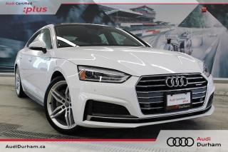 Used 2018 Audi A5 2.0T Progressiv Sportback + S-Line | CarPlay | Cam for sale in Whitby, ON