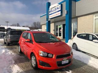 Used 2012 Chevrolet Sonic LT*Démarreur à distance for sale in Québec, QC