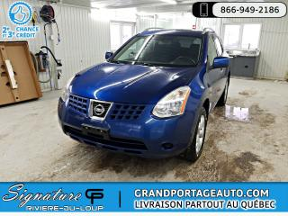 Used 2010 Nissan Rogue AWD + SL **CLEAN** for sale in Rivière-Du-Loup, QC