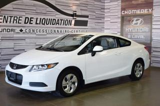 Used 2013 Honda Civic Lx+gr Electrique+a/c for sale in Laval, QC