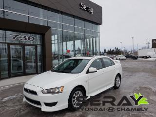 Used 2012 Mitsubishi Lancer SE for sale in Chambly, QC