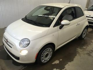 Used 2016 Fiat 500 Pop for sale in Trois-Rivières, QC