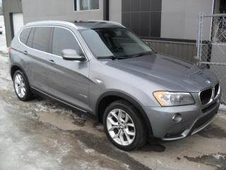 Used 2013 BMW X3 4x4 2.8i SUPER ECONO + GARANTIE 3 ans in for sale in Laval, QC
