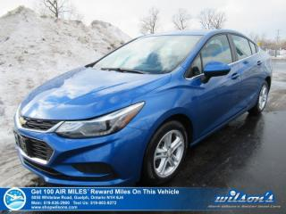Used 2017 Chevrolet Cruze LT - NEW TIRES! Sunroof, Heated Seats, Bluetooth, Rear Camera, Bose Audio, Remote Start! for sale in Guelph, ON