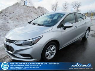 Used 2017 Chevrolet Cruze LT - NEW TIRES! Sunroof, Heated Seats, Bluetooth, Rear Camera, Bose, Remote Start, Alloys for sale in Guelph, ON