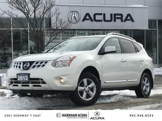 Used 2013 Nissan Rogue S AWD CVT Special Edition, Moonroof, Keyless Entry for sale in Markham, ON