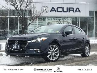 Used 2017 Mazda MAZDA3 Sport GT at Head Up Disp, Navi, Radar Cruise, BSM for sale in Markham, ON
