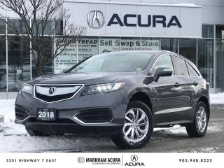 Used 2018 Acura RDX Tech at AWD, Navi, Backup Cam, Pwr Liftgate for sale in Markham, ON