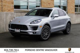 Used 2018 Porsche Macan S | PORSCHE CERTIFIED for sale in Vancouver, BC