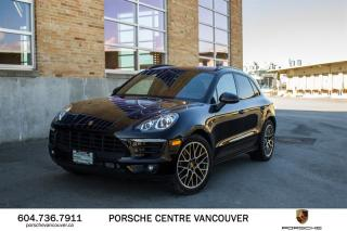 Used 2018 Porsche Macan Sport Edition | PORSCHE CERTIFIED for sale in Vancouver, BC