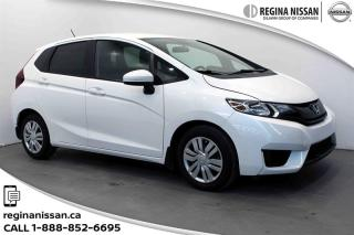 Used 2015 Honda Fit LX 6MT ONLY 54000 KM! HEATED SEATS - BLUETOOTH for sale in Regina, SK