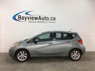 Used 2015 Nissan Versa Note 1.6 SL - PUSH START! NAV! HTD SEATS! A/C! CRUISE! for sale in Belleville, ON