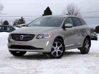 Used 2015 Volvo XC60 PLATINE + TOIT + NAV + PROLONGÉE COMPLÈT for sale in Magog, QC