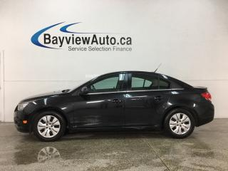 Used 2014 Chevrolet Cruze 1LT - 6SPD! REVERSE CAM! MY LINK! ONSTAR! PWR GROUP! for sale in Belleville, ON