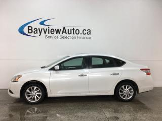 Used 2015 Nissan Sentra 1.8 SV - NISSAN CONNECT! HTD SEATS! SUNROOF! PUSH START! ALLOYS! for sale in Belleville, ON