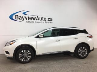 Used 2015 Nissan Murano SV - AWD! PANOROOF! PUSH START! HTD SEATS! PWR LIFTGATE! for sale in Belleville, ON