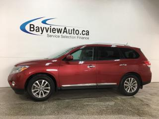 Used 2016 Nissan Pathfinder SL - 4WD! HTD LTHR! REVERSE CAM! BSA! HTD STEERING WHEEL! for sale in Belleville, ON