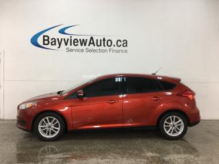 Used 2018 Ford Focus - SYNC! HTD STEERING WHEEL! REVERSE CAM! PWR GROUP! for sale in Belleville, ON