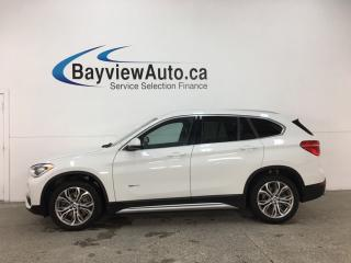 Used 2017 BMW X1 xDrive28i - AWD! PANOROOF! HTD LTHR! DUAL A/C! PUSH START! for sale in Belleville, ON