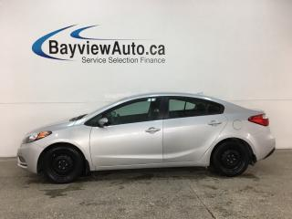 Used 2015 Kia Forte 1.8L LX+ - BLUETOOTH! A/C! CRUISE! PWR GROUP! for sale in Belleville, ON