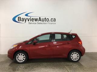 Used 2015 Nissan Versa Note 1.6 SV - A/C! CRUISE! BLUETOOTH! REVERSE CAM! for sale in Belleville, ON