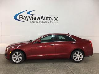 Used 2014 Cadillac ATS 2.0L Turbo - AWD! ONSTAR! BOSE SOUND! DUAL A/C! HTD LTHR! for sale in Belleville, ON