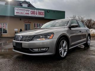 Used 2012 Volkswagen Passat 2.0 TDI Highline DIESEL!!! LEATHER !!! CERTIFIED!!! for sale in Bolton, ON