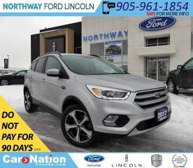 Used 2017 Ford Escape SE | NAV | PANOROOF | HTD LEATHER | for sale in Brantford, ON