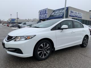 Used 2013 Honda Civic EX CAMERA|BLUETOOTH|HEATED SEATS|ALLOYS for sale in Concord, ON