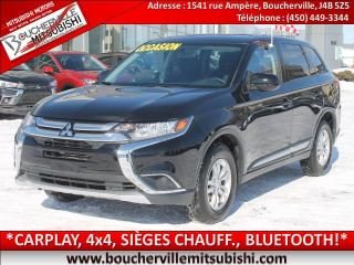 Used 2018 Mitsubishi Outlander Es Awc, Carplay for sale in Boucherville, QC