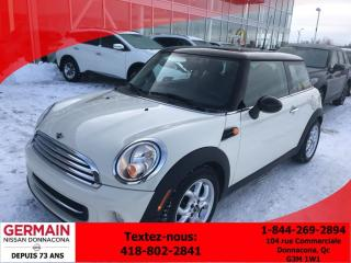 Used 2013 MINI Cooper Cruise - Bluetooth for sale in Donnacona, QC