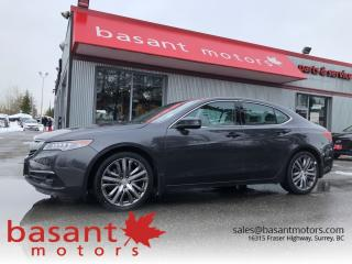 Used 2015 Acura TLX Elite, Nav, Heated/Cooled Seats, Blindspot!! for sale in Surrey, BC