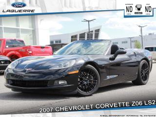 Used 2007 Chevrolet Corvette LS2** MOTEUR DE 6.0L**CUIR*A/C 2 ZONES** for sale in Victoriaville, QC