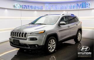 Used 2014 Jeep Cherokee LIMITED 4X4 + CUIR + TOIT PANO + CAMERA for sale in Drummondville, QC
