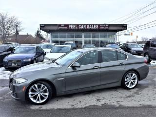Used 2014 BMW 5 Series 535d xDrive|NAVI|LEATHER|MOONROOF|DIESEL for sale in Mississauga, ON