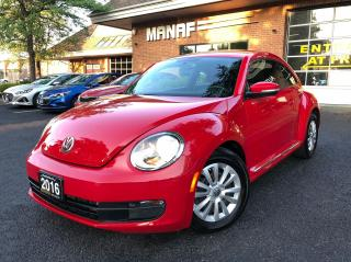 Used 2016 Volkswagen Beetle 1.8 TSI Trendline Heated Seats Low Km Certified* for sale in Concord, ON